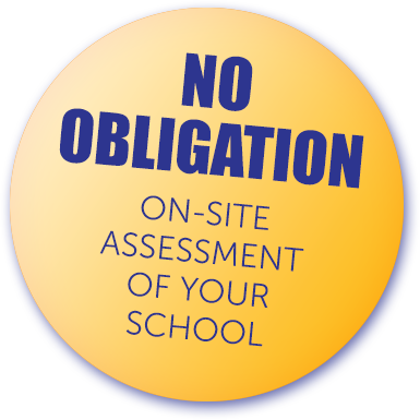 No obligation school maintenance inspection